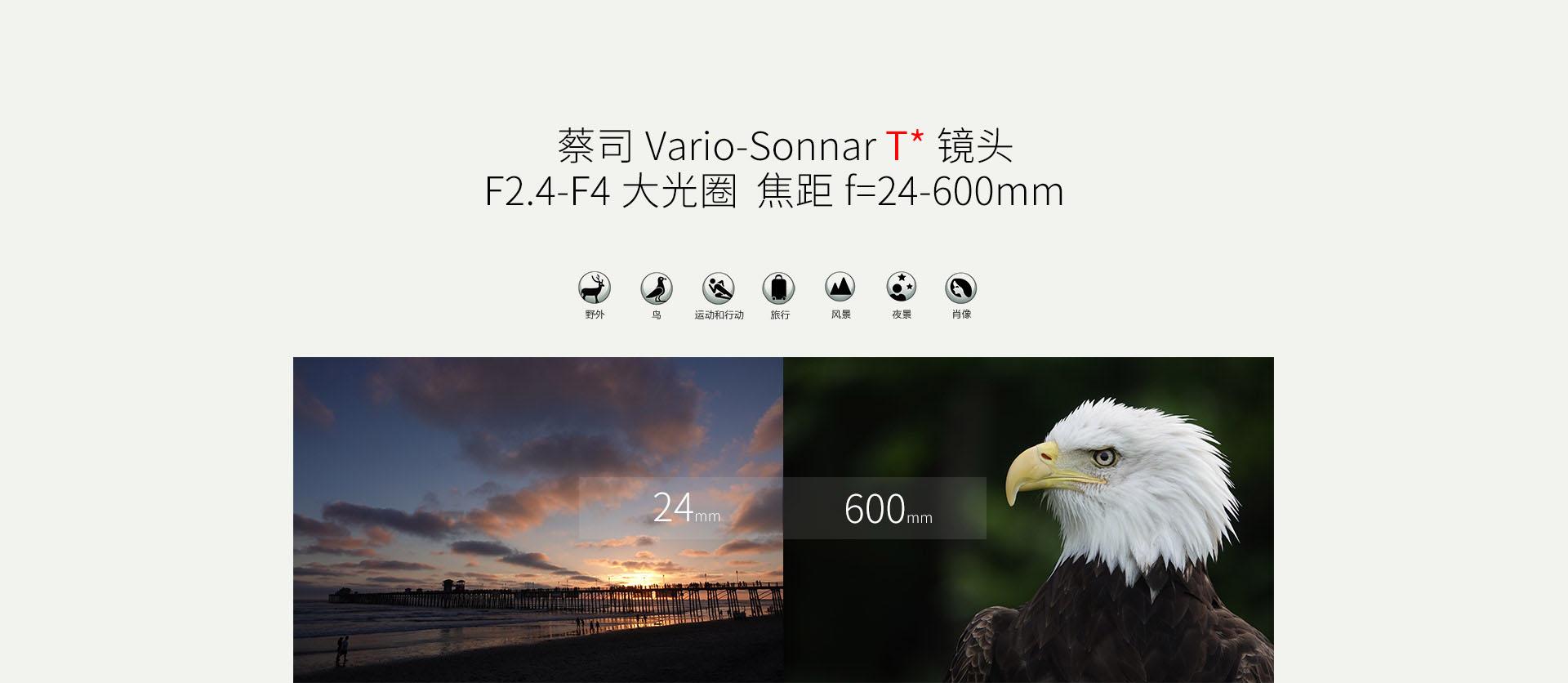 镜头介绍和24-600mm样照展示