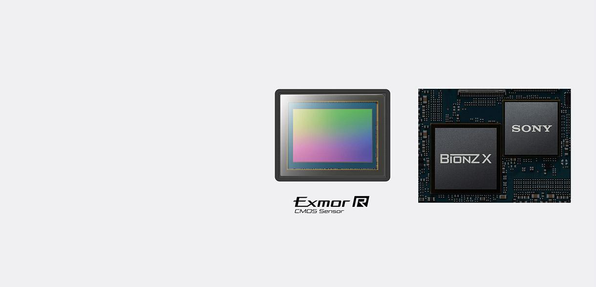 Exmor R CMOS背照式影像传感器和BIONZ X影像处理器的图片