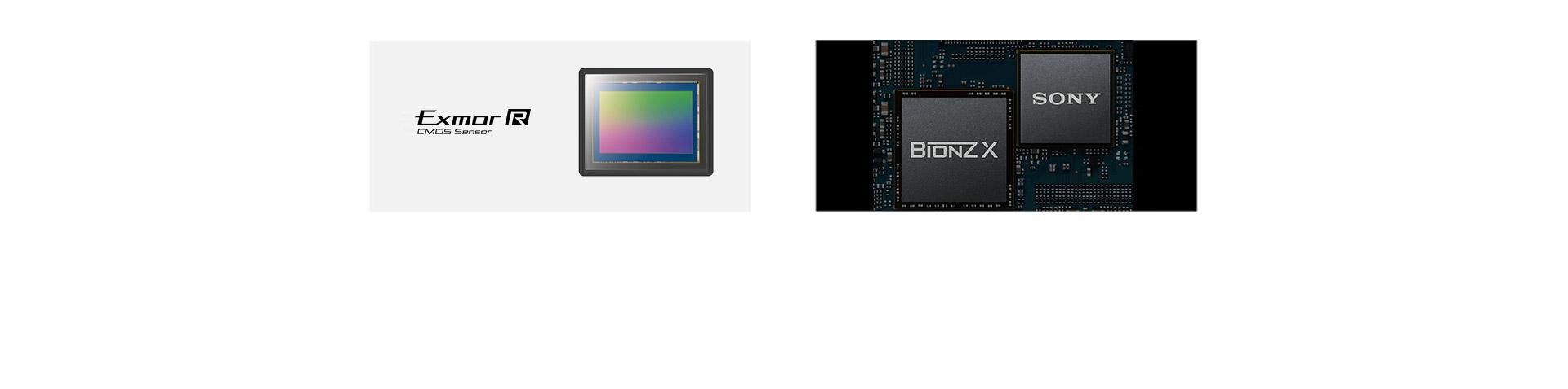 全画幅Exmor R CMOS传感器&BIONZ X影像处理器