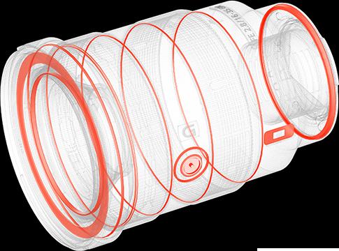 DDSSM(直驱超声波马达)对焦系统示意图